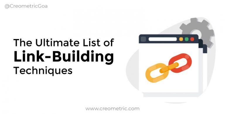 List of Link Building Techniques