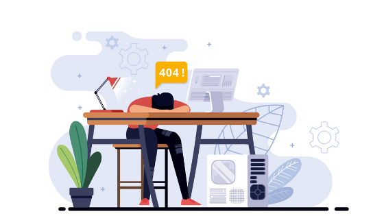 How to fix 404 error pages