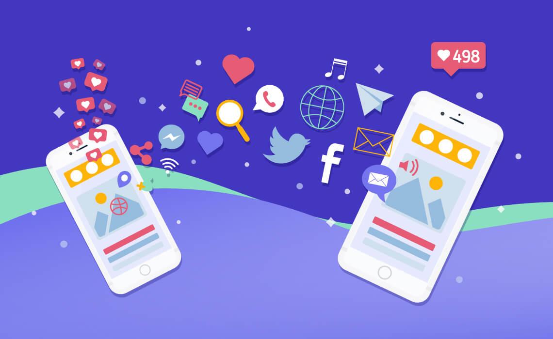 Content-type for each social media platform