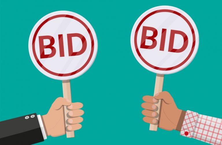 bidding options